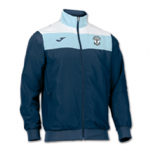 Carryduff AFC Crew Microfiber Jacket - Navy/White/Sky